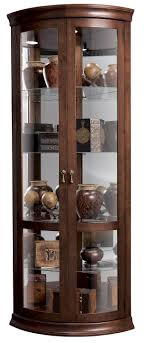 Metal Glass Display Cabinet Howard Miller Corner Curios Chancellor Display Cabinet Homeworld