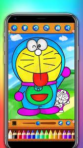 Doraemon is a cute robot cat. Doraemon Coloring Book For Android Apk Download