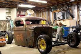 i d to see her go but this little rat rod has gone on to a new owner in indiana he has some great plans to make this his friday night cruiser