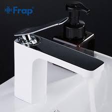 2019 <b>Frap</b> New <b>Basin</b> Faucets Waterfall Bathroom <b>Faucet Single</b> ...