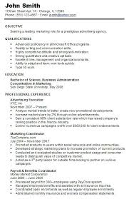 Chronological Resume Samples Examples Chronological Resume Format