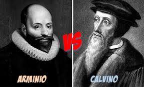 Resultado de imagem para arminiano e calvinista