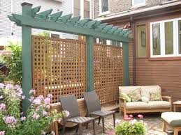 backyard privacy privacy fence designs