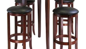 black table set bistro dining counter and chairs round white pedestal wood sets bar marble pub