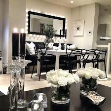black white decor the and home smart bedroom decoration dining room striped area rug ideas