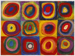 Image result for artwork of kandinsky & o'keefe