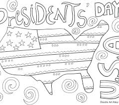 Presidents Day Printable Coloring Pages Presidents Day Coloring