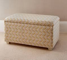 Ottoman Bedroom Storage Large Storage Ottoman Styled For Bedroom The Dormy House