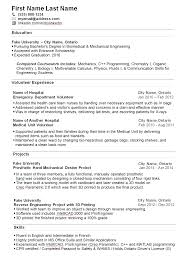 College Student Resume For Summer Job Summer Job Resume For College Student Cover Letter Samples Cover 3