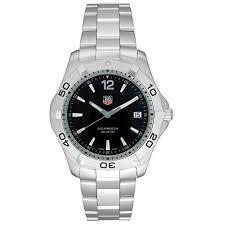 Tag Heuer Mens Waf1110 Ba0800 2000 Aquaracer Quartz Watch
