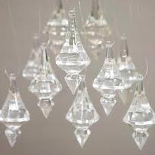 event decor acrylic chandelier drops crystal cut pendant ornaments 1lb bag com