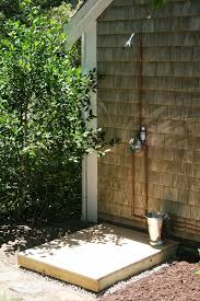exterior shower fixtures. outdoor shower fixtures copper exterior l