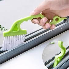 window track brush sliding door brush shower door brush tight area cleaning brush