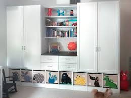 custom wardrobe storage cabinets and closet wall unit for a young child s bedroom