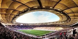 The venue itself is incredible. Mercedes Benz Arena Stuttgart Wikipedia