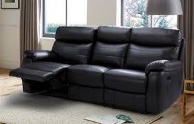 leather sofas uk. Unique Sofas Danson 3 Seater Manual Recliner Premium In Leather Sofas Uk A