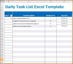 task excel template task template excel oyle kalakaari co