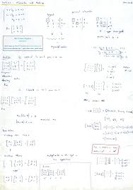 back substitution matrix math linear algebra lecture 2 elimination with matrices substitution matrix math