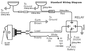 wiring diagrams for hid driving lights and spot lights standard 4pin