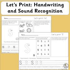 Free interactive exercises to practice online or download as pdf to print. Handwriting Practice For Kindergarten 1st Supports Jolly Phonics Sassoon Font