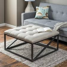oversized tufted ottoman medium size of coffee coffee table ottoman leather storage ottoman coffee table coffee