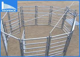 Galvanized Square Welded Wire Cattle Panels Farm Fence Panels 40