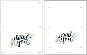 Microsoft Word Thank You Card Template Complete Guide Example