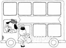 バスツアーイラストなら小学校幼稚園向け保育園向け自治会pta