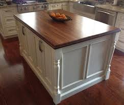 mahogany wood countertop with standard roman ogee