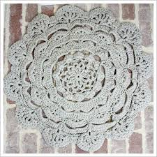diy crochet doily rug including tutorials of basic crochet stitches