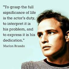 Acting Quotes Simple Marlon Brando On Acting Quote Quotes Passion And Performance