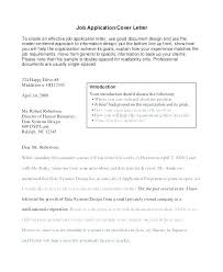 Sample Cover Letter For A Job Application Sample Cover Letters For ...