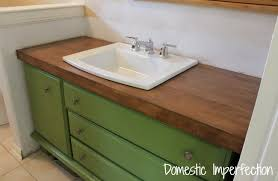 stained maple wood flooring countertop