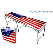 8-Foot Professional Beer Pong Table w/ OPTIONAL Cup Holes, LED Lights, Dry Erase Surface \u0026 Party Graphics - Choose Your Model Walmart.com