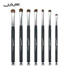types of eye makeup brushes. retail jaf classic 7pcs brushes for makeup 100% natural animal horse pony hair eye brush set je07py-in underwear from mother \u0026 kids on aliexpress.com types of h