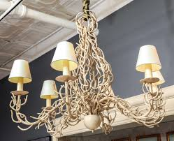 homemade lighting. Fake Chandelier For Decoration And Lighting Elegant Coral Design Modern Interior With Large Drum Homemade Lamps Circular Lantern Dining Room Lights