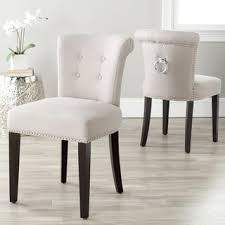 dining chair seat height 20 inches. safavieh en vogue dining carrie taupe linen chairs (set of 2) chair seat height 20 inches