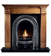 the gallery roundel pine fireplace with regal cast iron arch consists of the roundel pine mantel regal cast iron arched insert with cast back