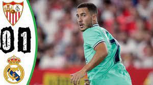 ملخص مباراة ريال مدريد و اشبيلية ( 1- 0 ) / تألق هازارد - YouTube