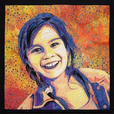 10 Best images about Portrait Quilts on Pinterest | Amazing art ... & 10 Best images about Portrait Quilts on Pinterest | Amazing art, Quilt and  Colors Adamdwight.com