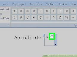 image titled add exponents to microsoft word step 13