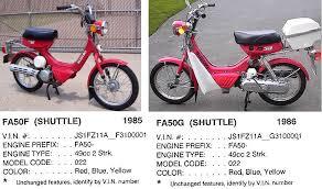 suzuki myrons mopeds Suzuki FA50 CDI 1985 86 suzuki fa50 shuttle