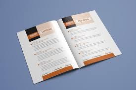 Resume Booklet Template Best of Resume Booklet Template Vol 24 TemplatesStudio