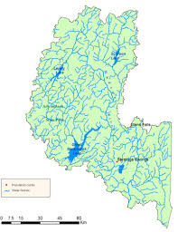 upper hudson river watershed map  nys dept of environmental
