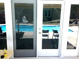 exterior french doors with screens french patio doors with screens exterior french door with screen screen