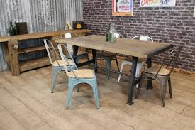 U Shaped Legs Industrial Style Dining Table By Cosywood Industrial Look Dining Table
