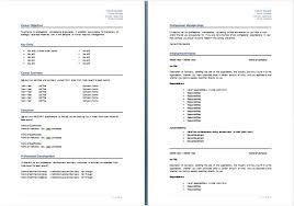 Australian Resume Format Sample Resume Template 9 Resume Australia