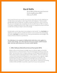 10 Resume Soft Skills Appraisal Letter