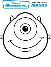 monsters inc masks printables_184670 royalty free css website templates,free free download card designs on free download login page template in html