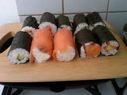 my favorite food sushi floating in dreams my